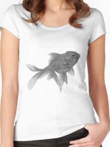 TV Fish Women's Fitted Scoop T-Shirt