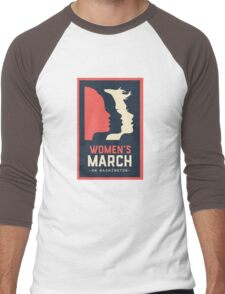 Women's March Men's Baseball ¾ T-Shirt