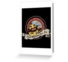 Death Mountain Fire Ale Greeting Card