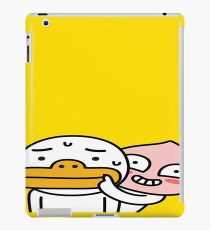 Apeach & Tube, our Kakao friends   iPad Case/Skin