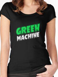 Kyuss – Green Machine Women's Fitted Scoop T-Shirt