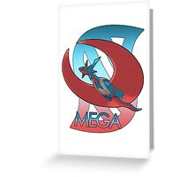 Mega Salamence  Greeting Card