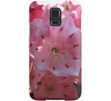 Pink jingle Samsung Galaxy Case/Skin
