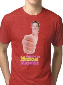 Thumbs Up Mama Boo Boo Tri-blend T-Shirt
