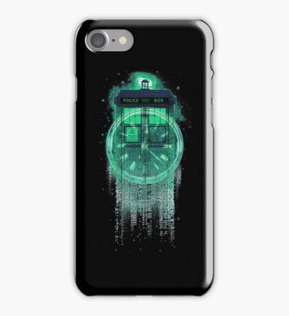 Through time and dimensions iPhone Case/Skin