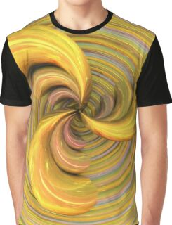 Golden Ribbons Graphic T-Shirt