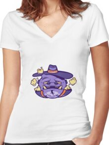W.E.E.Z. Women's Fitted V-Neck T-Shirt