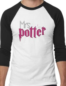 Mrs Potter Version 2 Men's Baseball ¾ T-Shirt