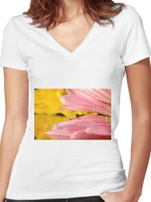 Extraordinary Women's Fitted V-Neck T-Shirt