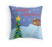 Merry Christmas Card, Mug, Print,T-Shirt, iPhone Case, Samsung Galaxy Case, Poster, Throw Pillow, Tote Bag, Duvet Cover, Mug, Photographic Print, Art Print, Greeting Card,  Throw Pillow