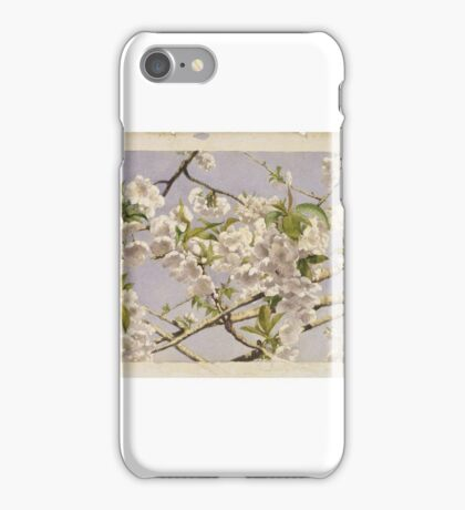 John William Hill (American, ). Apple Blossoms, ca.  iPhone Case/Skin
