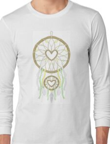 White Dreamcatcher Long Sleeve T-Shirt