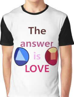 The Answer is Love (v1) Graphic T-Shirt