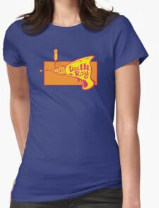 Death Ray Womens Fitted T-Shirt