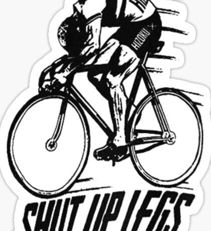 Shut Up Legs Black Sticker