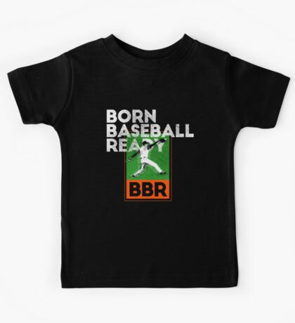 Baseball Lovers Tee Shirt I was Born Baseball Ready Shirt Kids Tee