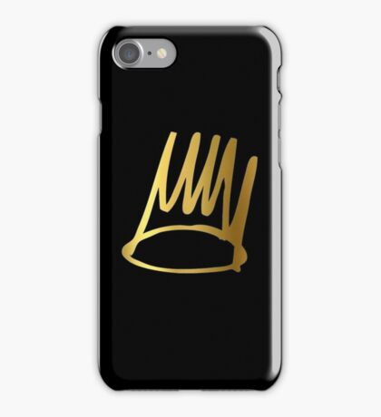 J Cole Crown  iPhone Case/Skin