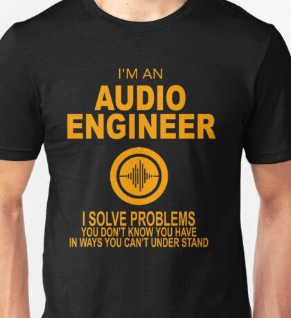 Audio Engineer Version 2 Unisex T-Shirt
