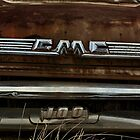Abandoned 1958 GMC 100 Grille Detail by mal-photography