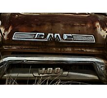 Abandoned 1958 GMC 100 Grille Detail Photographic Print