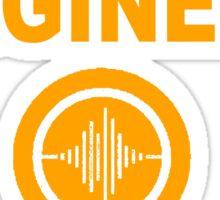 Audio Engineer Version 2 Sticker