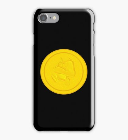 Goomba coin iPhone Case/Skin