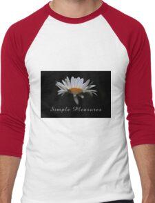 Simple pleasures. Men's Baseball ¾ T-Shirt