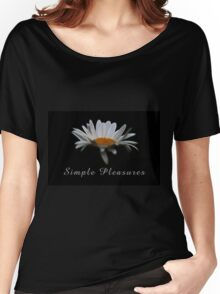 Simple pleasures. Women's Relaxed Fit T-Shirt