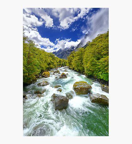 New Zealand Landscape 13 Photographic Print