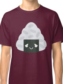 Onigiri Rice Ball Emoji Pretty Please Classic T-Shirt