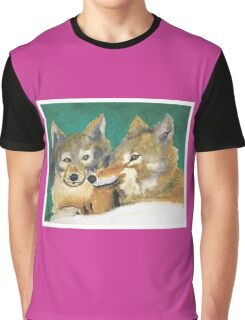Mr. and Mrs. Wolf Graphic T-Shirt