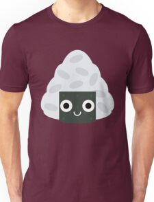 Onigiri Rice Ball Emoji Shock and Surprise Unisex T-Shirt