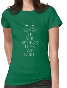 if ser pounce Womens Fitted T-Shirt