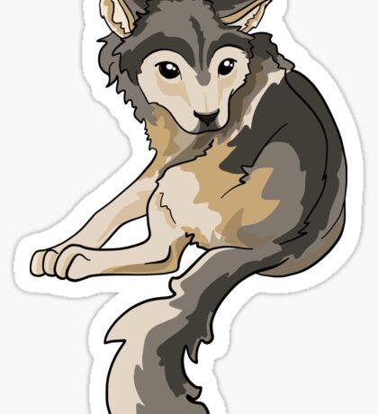 Nymeria Dire Wolf Cub Puppy Sticker