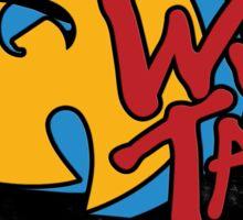 W-tang retro Sticker