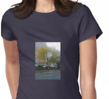 Autumn In New York Womens Fitted T-Shirt