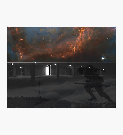 Space Trench Photographic Print
