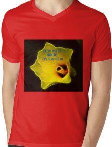 Glow Mens V-Neck T-Shirt