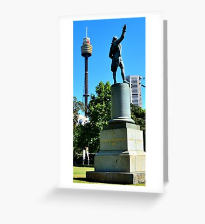 Captain Cook  Greeting Card
