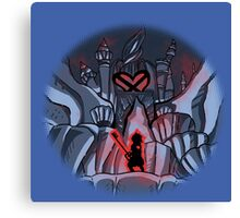 Attack on heart! Canvas Print