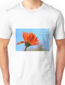 Bridge to burn Unisex T-Shirt