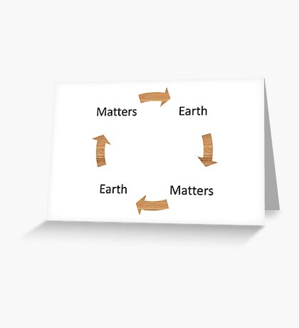 Earth Matters Cycle Greeting Card