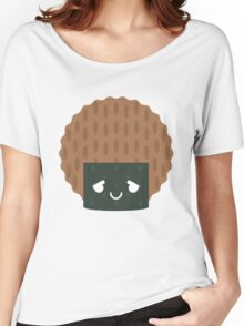 Seaweed Rice Cracker Emoji Pretty Please Women's Relaxed Fit T-Shirt
