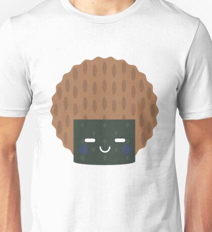 Seaweed Rice Cracker Emoji Teary Eye of Joy Unisex T-Shirt