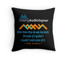 Bets Quote For Audio Engineer Throw Pillow