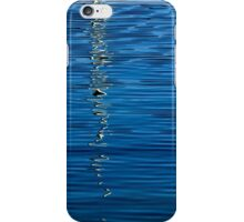 Black and White on Blue iPhone Case/Skin