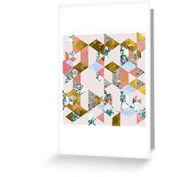 Geometry of Love #edbubble #decor  Greeting Card