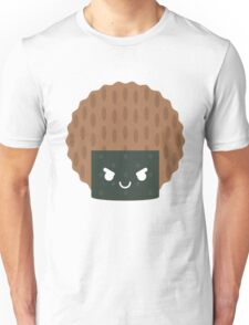 Seaweed Rice Cracker Emoji Naughty and Cheeky Unisex T-Shirt