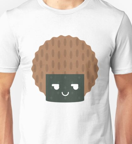 Seaweed Rice Cracker Emoji Cheeky and Up to Something Unisex T-Shirt