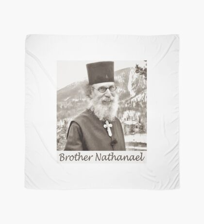 Brother Nathanael. Scarf